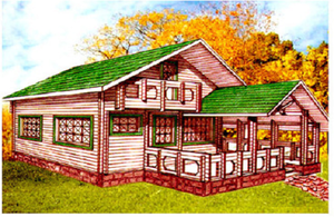Дом DD02-056 (95 кв.м)