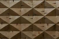 Деревянная плитка торцевая из старых бревен, покрытие Wolman/масло