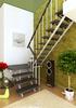 Комбинированная межэтажная лестница ЛЕС-06 (поворот 180°)