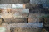 Панель из старых бревен, покрытие Wolman