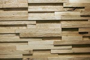 Стеновая панель Дуб грубый распил Oak rough-sawn 107х700х15-25 мм