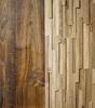 Стеновая панель Дуб старый светлый Oak aged light 107х700х15-25 мм