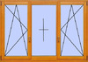 Деревянное окно №21