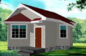 Дом DD02-627 (40 кв.м)