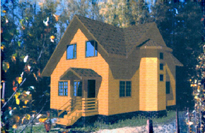 Дом DD02-667 (86 кв.м)