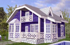 Дом DD02-005 (100 кв.м)
