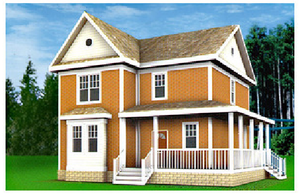 Дом DD02-670 (128 кв.м)
