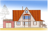 Дом DD02-676 (214 кв.м)
