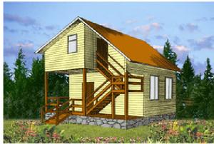Дом DD02-313 (80,5 кв.м)