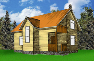 Дом DD02-319 (87,8 кв.м)