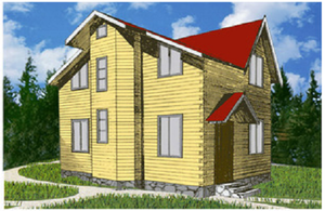 Дом DD02-320 (80,5 кв.м)