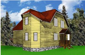 Дом DD02-326 (66 кв.м)
