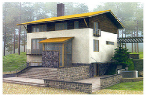 Дом DD02-680 (349 кв.м)