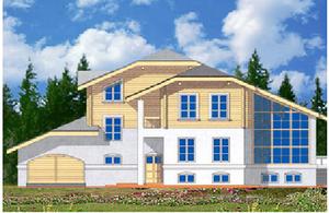 Дом DD02-157 (750 кв.м)