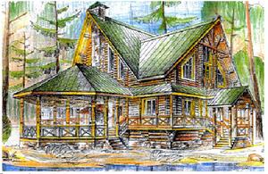 Дом DD02-170 (838 кв.м)