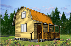 Дом DD02-334 (53 кв.м)