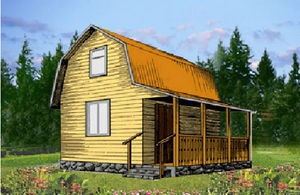 Дом DD02-335 (63 кв.м)