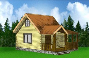 Дом DD02-338 (54 кв.м)