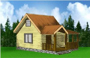 Дом DD02-340 (52 кв.м)