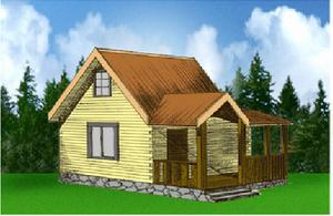 Дом DD02-341 (63 кв.м)