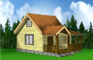 Дом DD02-342 (75 кв.м)