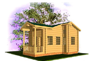 Дом DD02-345 (50 кв.м)