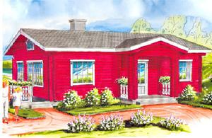 Дом DD02-406 (83 кв.м)