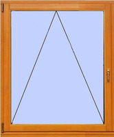 Деревянное окно №7