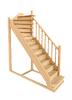 Деревянная универсальная лестница ЛЕС-215 (поворот 90°)