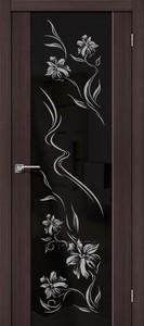 Дверь межкомнатная эко-шпон Bravo Soft, S-13 Print