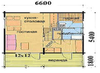 Дом DD02-302  (59,5 кв.м)