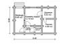 Баня DB02-040 (45 кв.м)