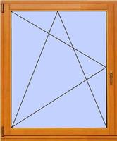 Деревянное окно №8