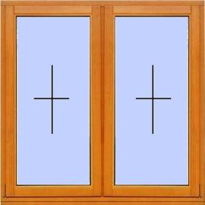 Деревянное окно №9