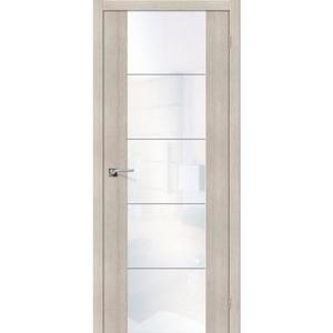 Дверь межкомнатная эко-шпон Bravo Vetro, V4 S