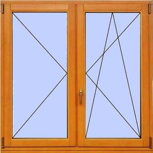 Деревянное окно №13
