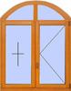 Деревянное окно №14
