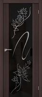 Дверь межкомнатная эко-шпон Bravo Soft, S-13 Stamp