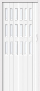 Дверь межкомнатная складная ПВХ гармошка Bravo, Браво 018