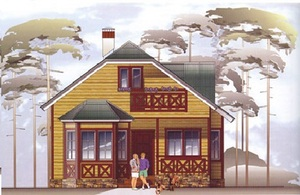 Дом DD02-003 (87 кв.м)