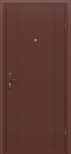 Дверь входная  стальная Bravo Оптим Практик, Door Out 101