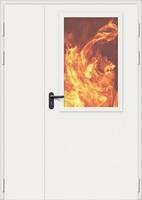 Дверь противопожарная стальная Bravo EI-60, ДП-1,5.1(2.1)