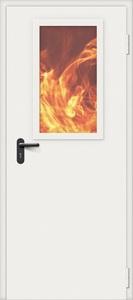 Дверь противопожарная стальная Bravo EI-60, ДПО-1