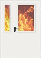 Дверь противопожарная стальная Bravo EI-60, ДП-1,5.2(2.2)