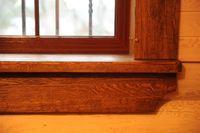 Деревянное окно №2