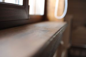 Деревянное окно №4