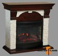Каминокомплект Питсбург-SL белый +Firespace25 -S IR