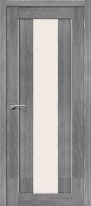 Дверь межкомнатная эко-шпон Bravo Porta X, Порта 25-alu