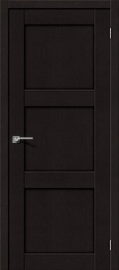 Дверь межкомнатная эко-шпон Bravo Porta S, Порта 3