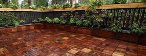 Садовый паркет - лиственница